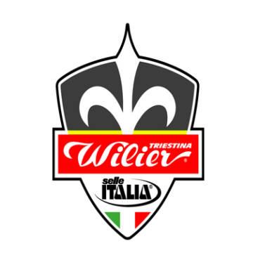 Squadra ciclistica sulle terre di Leonardo Wilier